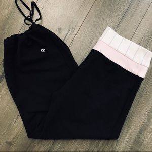Lululemon Cropped Cargo Pants